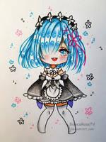[Chibi] Rem Re:Zero by BiancaRoseTV