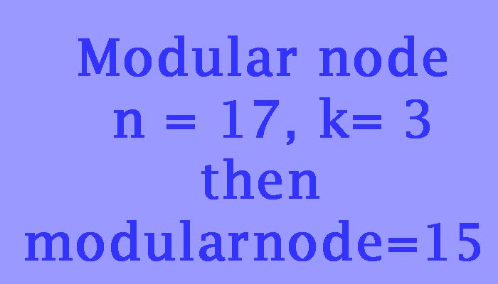 modular node