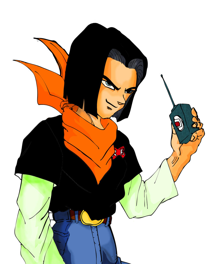 Dragon Ball Z Android 17 By Jerome13001 On Deviantart