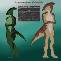 Parasaurolophus Adoptables Round 1 SOLD!