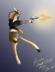 Cougar Action Girl