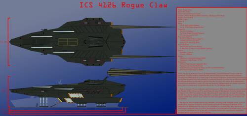 Rogue Claw Starship Design