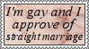Straight Marriage