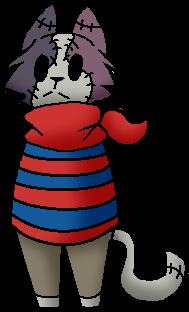 Neko Zombie Chibi by PastelGlaze