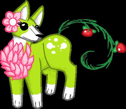 Natural Fox Adoptable (CLOSED) by PastelGlaze