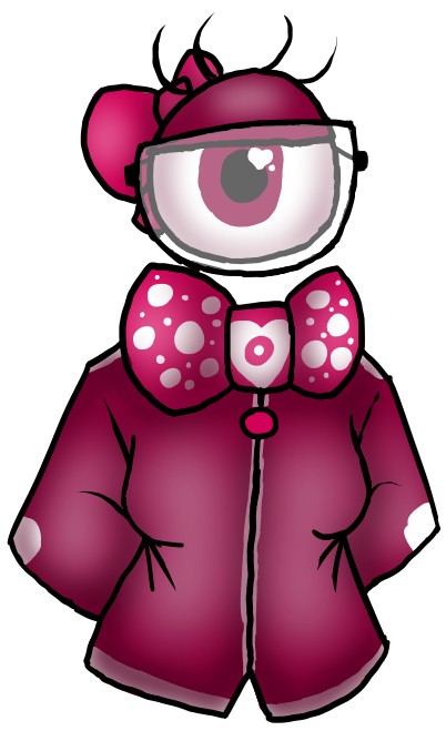 (CLOSED) Magenta Eyeball adoptable/Auction by PastelGlaze