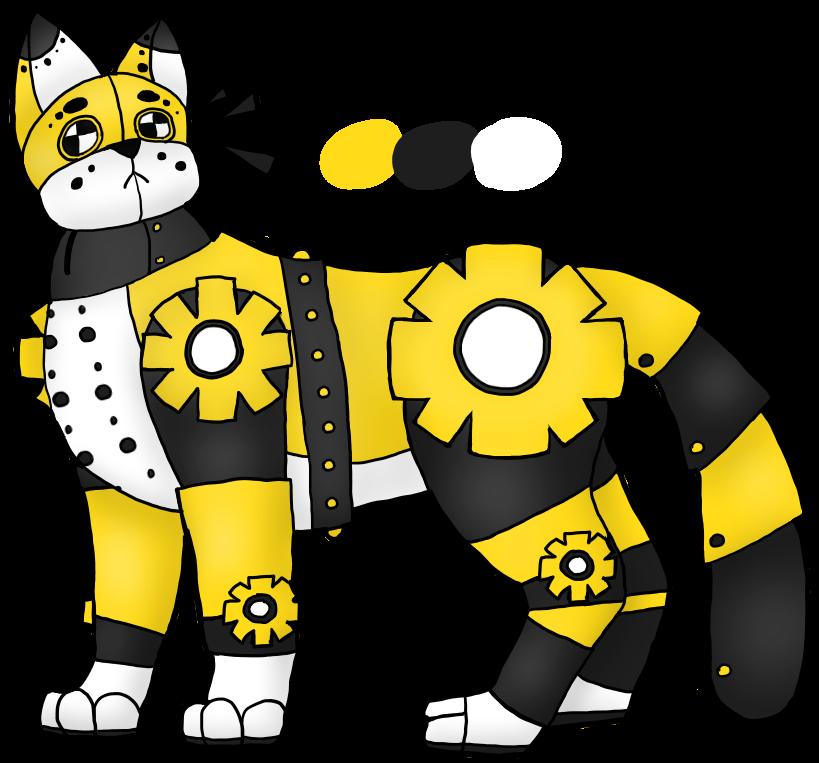 (CLOSED) Robot Nuke Cat Adopt by PastelGlaze