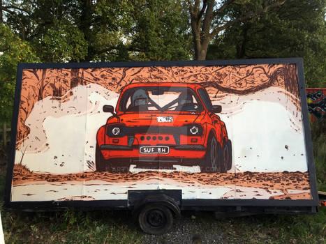 Ford Escort MK1 Graffiti