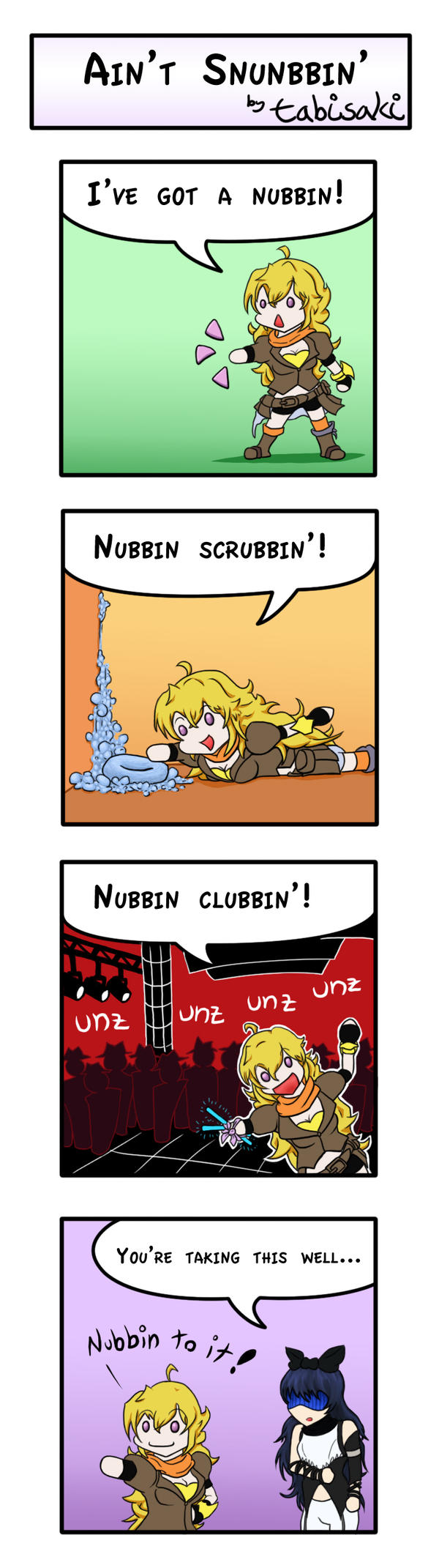 Awesome Things To Buy >> RWBY Comic: Ain't Snubbin' by tabisaki on DeviantArt