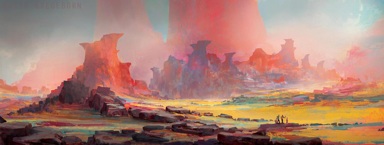 Crimson Spire by ProjectOsxar