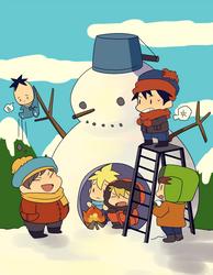 SP :: Snowman
