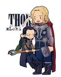 MC :: Thor x Loki