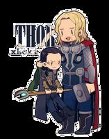 MC :: Thor x Loki by Cartooom-TV
