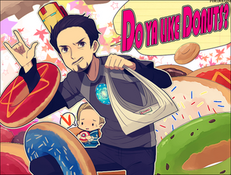 Avengers :: DONUT PUNCH by Cartooom-TV