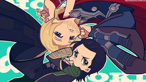 Avengers :: PSG style ThorKi by Cartooom-TV