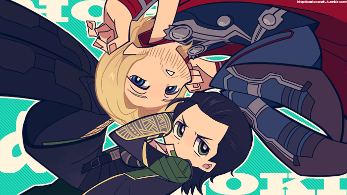 Avengers :: PSG style ThorKi by Cartooom-TV