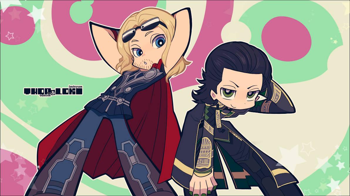 Avengers :: PSG style ThorKi 2 by Cartooom-TV