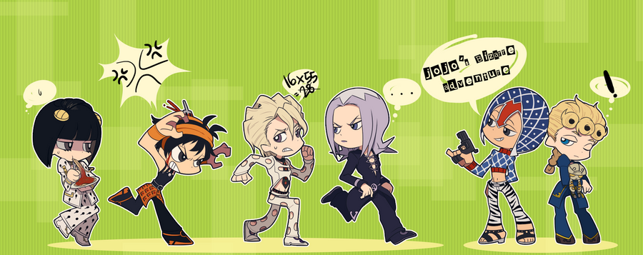 Jojo :: Vento Aureo By Cartooom-TV On DeviantArt