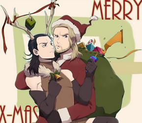 Merry X-MAS by Cartooom-TV