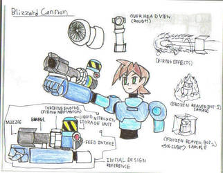 Blizzard cannon- Weapon Contest Entry by ravenf6