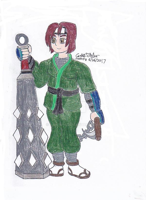 Chermona Siobhan, the Jade Whisper by ravenf6