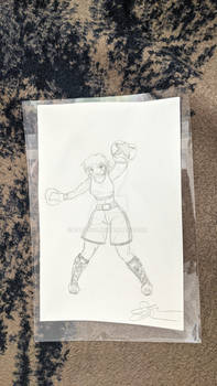 Chastity Lancaster sketch by madhatterkyoko