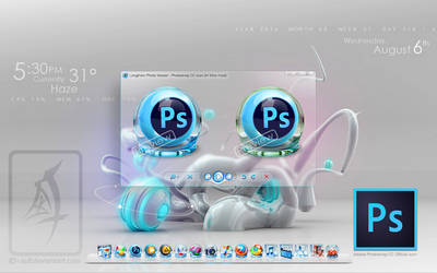 Photoshop CC icon (In Vitro mod) by i-Asif