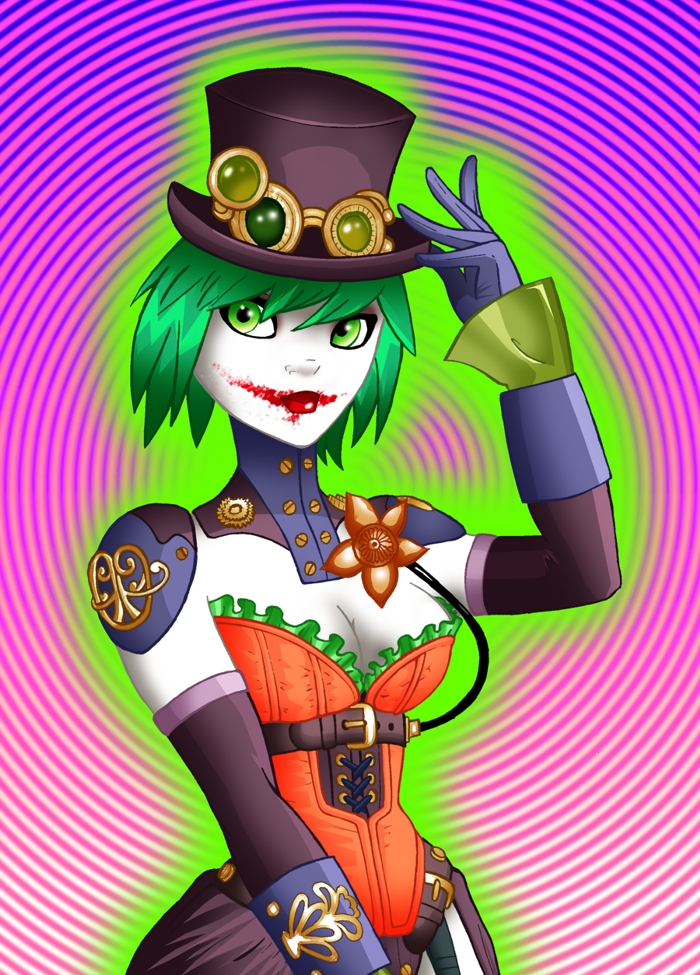 Duela Dent - Joker's Daughter by LeoCez on DeviantArt