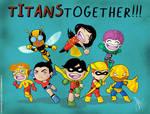 Chibi Teen Titans '70