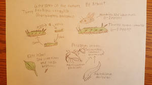 Thorny Neotenic Caterpillar (Spec evo)