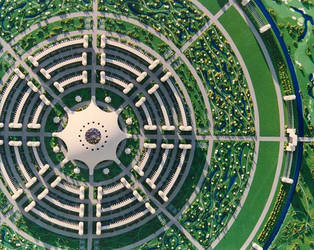 Circular City II by thevenusproject