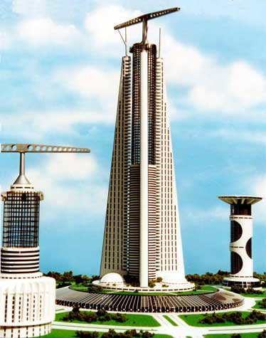 Hi-rise Skyscraper II by thevenusproject