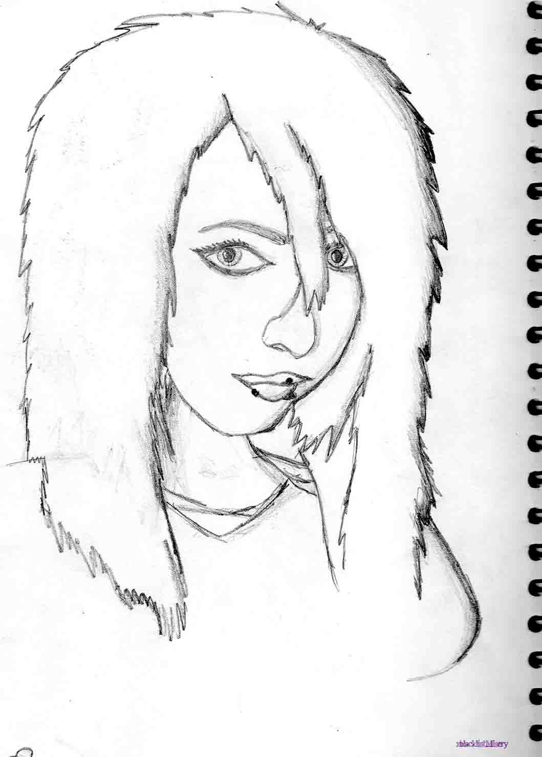 Cute girl drawing 7 by xblacklistmisery on deviantart for Cute drawings for a girlfriend