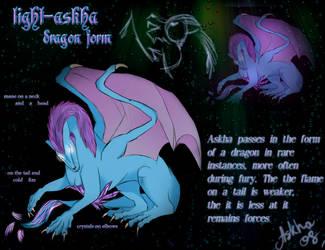 askha dragon form_reference by light-askha