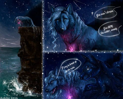 Water Wolf and Starry Hound P1