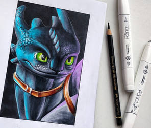 Marker Toothless by light-askha