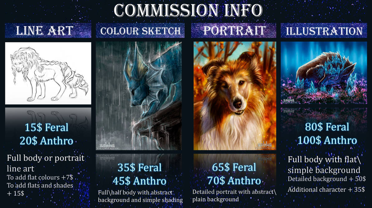 Commission Info OPEN