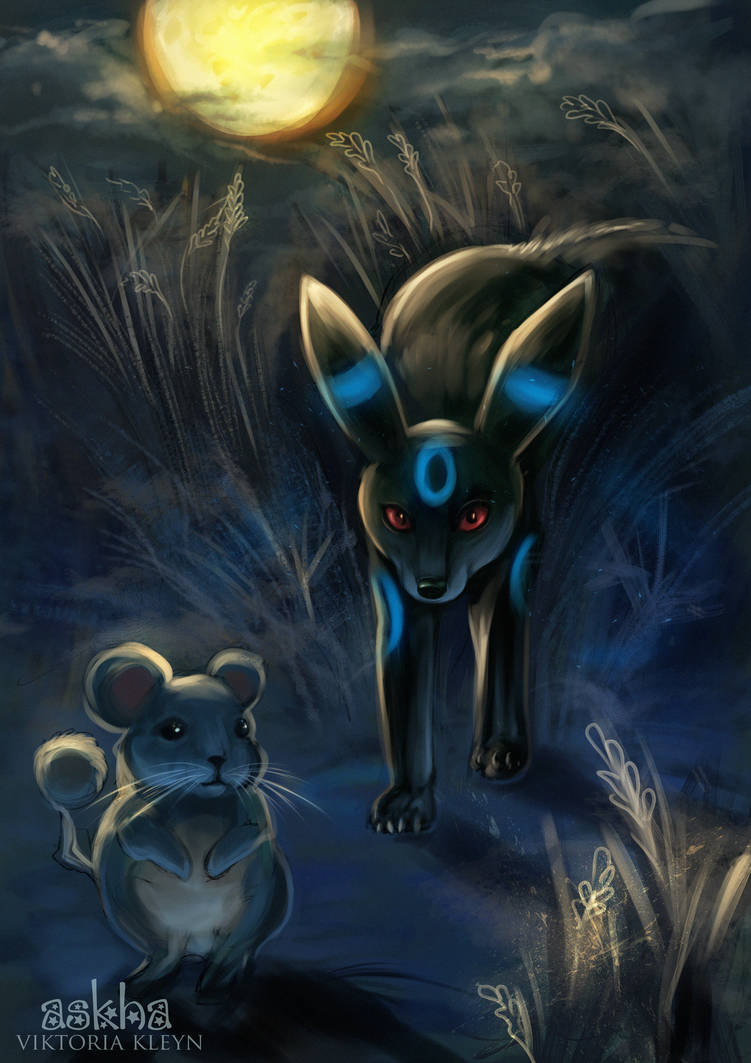 Umbreon by light-askha