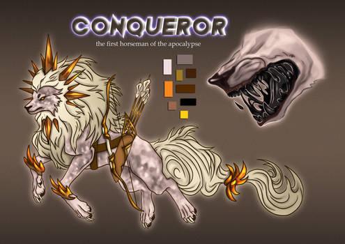 Conqueror Adoptable Auction CLOSED
