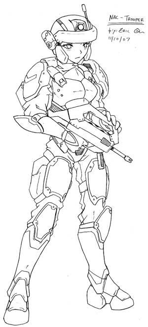 NAC Trooper - Auto Rifle 2