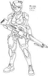NAC Trooper - Sniper Rifle
