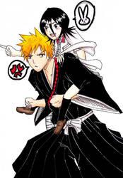 IchiRuki piggyback by ravenator94