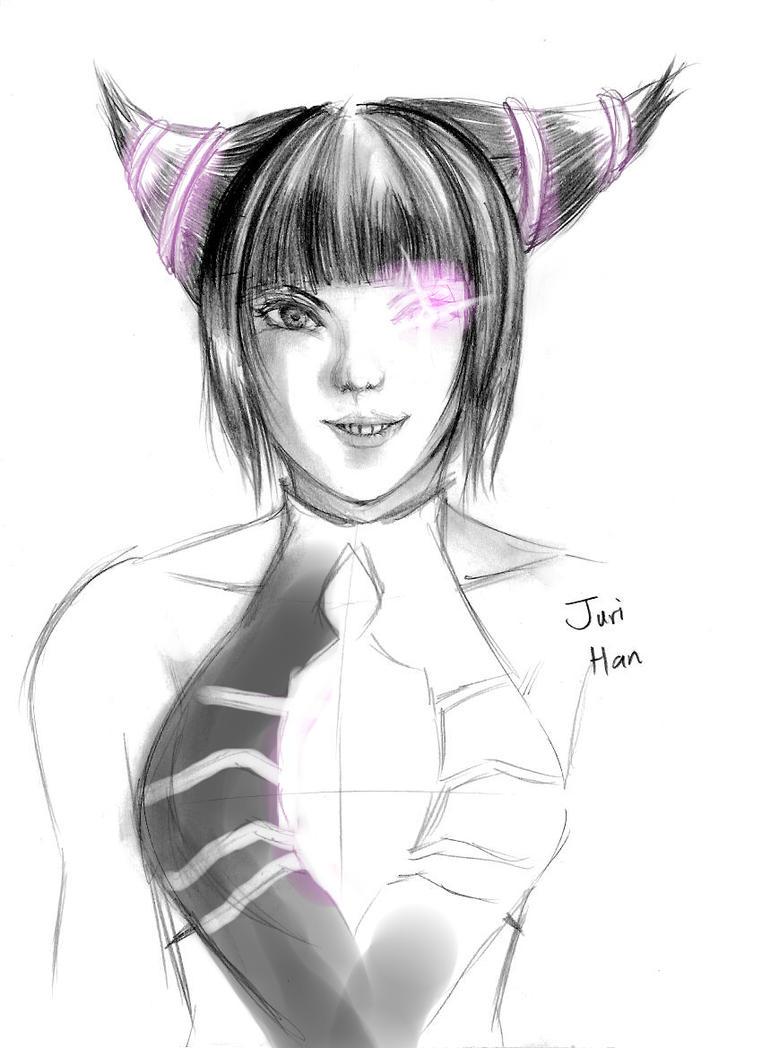 Juri Han by ravenator94