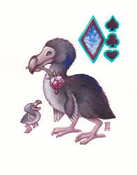 Painting The Dodo Red by Cameron-Brideoake