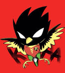 Robin as Screech Robin by ChryZoic