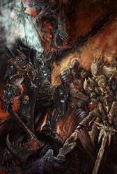 Warhammer Battle by AlexBoca