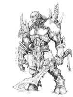World Of Warcraft fan Art by AlexBoca