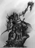 Barbarian Concept by AlexBoca