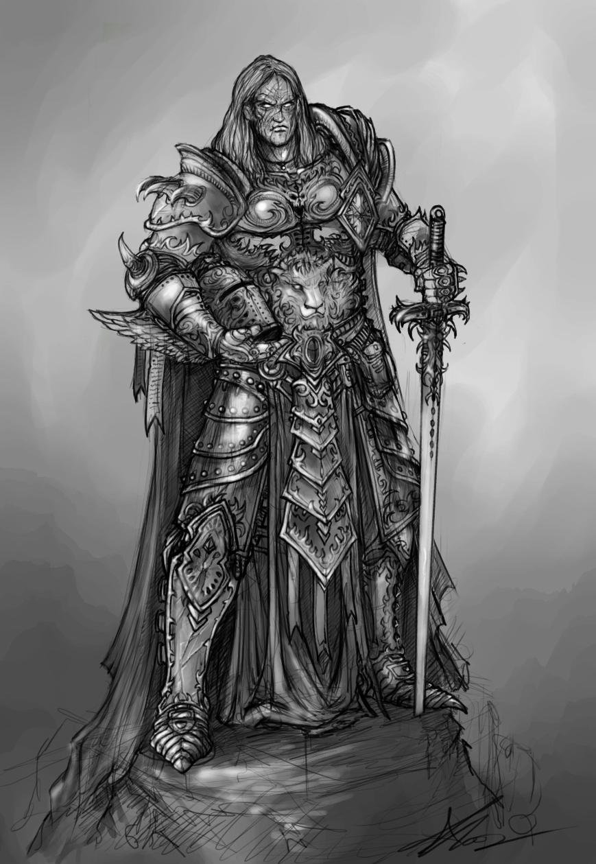 knight concept  alexboca  deviantart