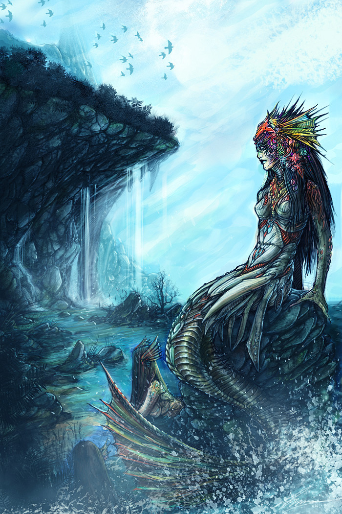 Janvyre Arairies Mermaid_by_Zyklon8B